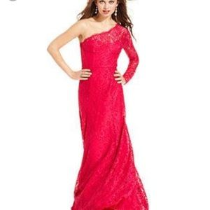"Gorgeous BCBG ""BETSY"" hot pink gown dress"